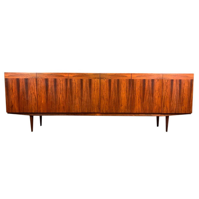 Vintage Danish Mid Century Modern Rosewood Credenza by AymerickModern