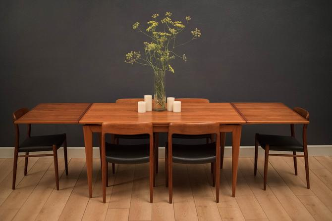 Danish Niels Otto Moller Teak Dining Table by MidcenturyMaddist