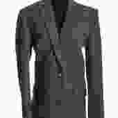 Iro Plaid Wool Blazer