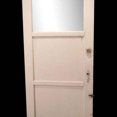 Antique 1 Lite 2 Pane Swinging Porch Door 79.125 x 32.125