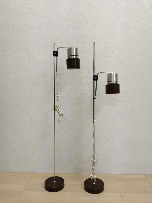 Pair of Vintage Danish Modern Floor Lamps by FarOutFindsNYC