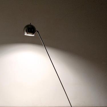 Vintage Robert Sonneman Chrome Eyeball Articulated Floor Lamp 1960s by 20cModern
