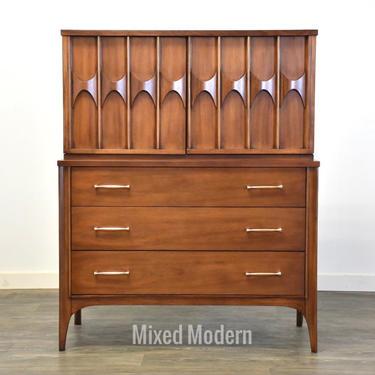 Kent Coffey Perspecta Walnut & Rosewood Dresser by mixedmodern1
