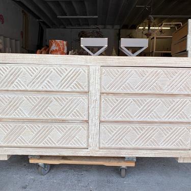 Island Chic Faux Bamboo Dresser