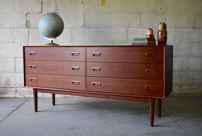 Mid Century MODERN styled Teak DRESSER / Sideboard by CIRCA60