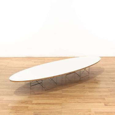 Eames Surfboard Coffee Table.Eames Herman Miller Surfboard Coffee Table