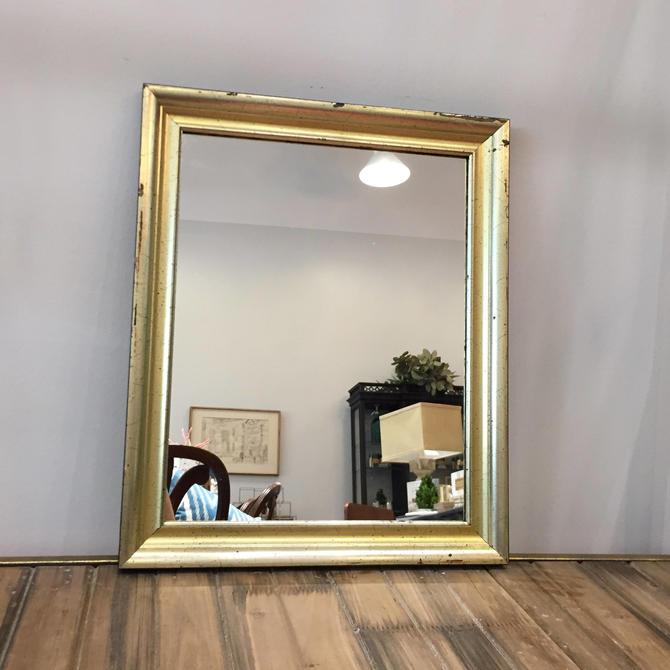 Small Gilt Mirror by StylishPatina