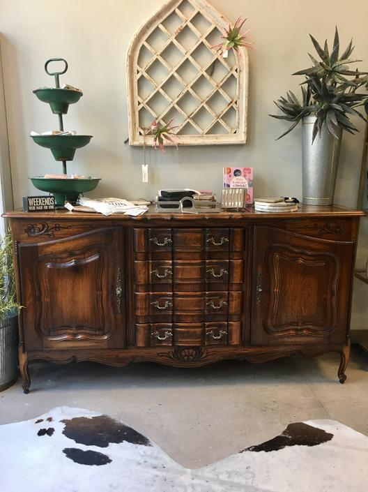 Incredible Anna Ornately Carved Sideboard Buffet By Stylishpatina Home Interior And Landscaping Palasignezvosmurscom