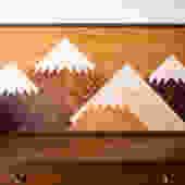 5 Peak Mountainscape 2'x4'