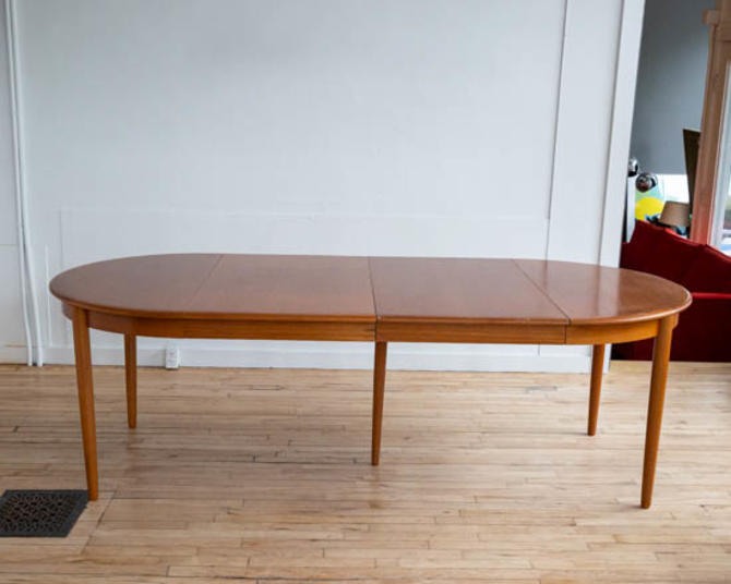 Arne Hovmand Olsen Oval Teak Dining Table