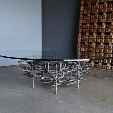 Daniel Gluck Sculptural Coffee Table circa 1970