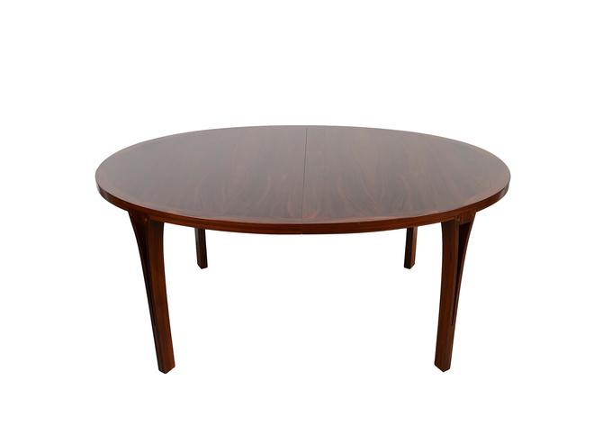 Rosewood Dining Table Heltborg Mobler John Mortensen Oval Table Danish Modern by HearthsideHome