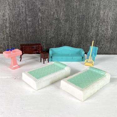 Renewal and Plasco mixed dollhouse furniture Lot - 1950s vintage by NextStageVintage