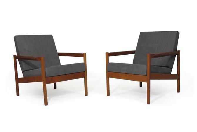 Kai Kristiansen Teak Lounge Chairs