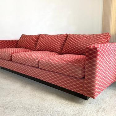 vintage mid century Dunbar tuxedo sofa couch by TripodModern