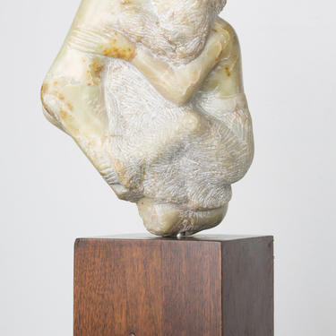 Etched Marble Lover's Embrace by Bernard Simon
