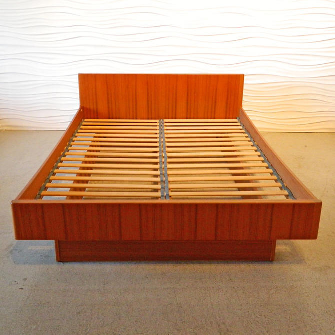 Ha 16241 Wb Mobler Teak Full Platform Bed From Home