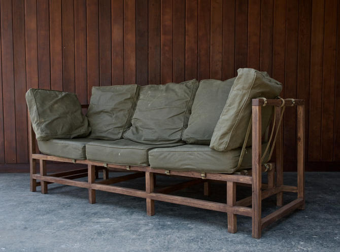 Military Barracks Sofa by BrainWashington