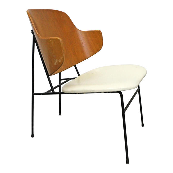 Vintage IB Kofod Larsen Selig Penguin Chair Mid-Century Modern Danish Modern Accent Chair by AnnexMarketplace
