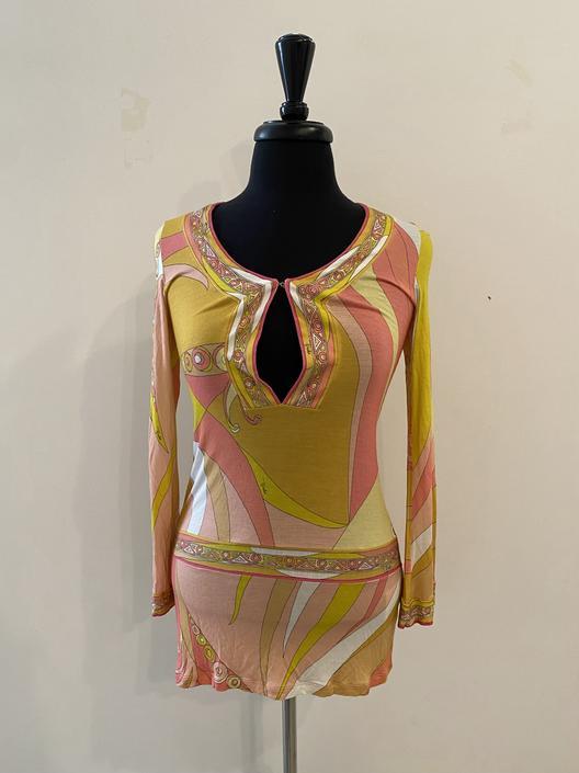 Pucci Swirl Mini Dress