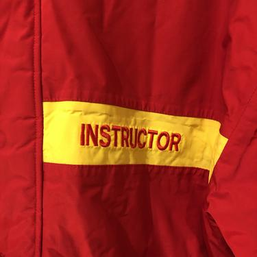 """80s """"Instructor"""" Weatherproof Jacket"""