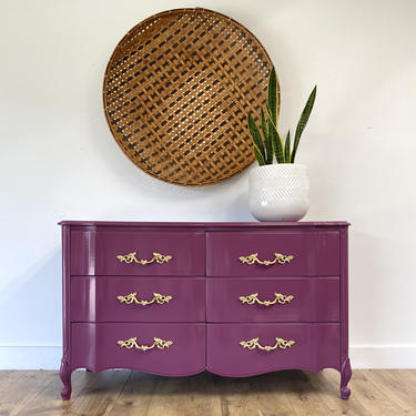 AVAILABLE - Glossy Berry Dresser by JulieSimpleRedesign