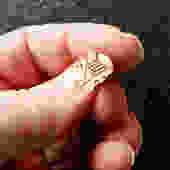 Birks Sterling Vermeil Dragon Tie Tack by LegendaryBeast