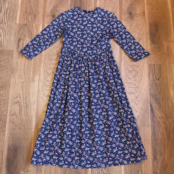 Vintage Prairie Dress 70s Clothing Hippie Clothes COTTAGECORE XXS by LoveItShop