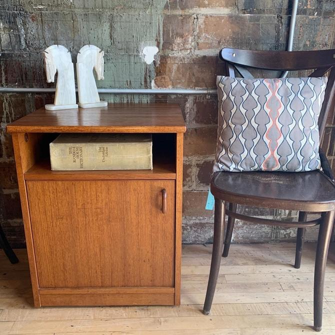 Petite Teak Cabinet / Side Table