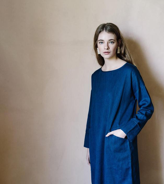 Karrie Indigo Dress