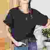 Shorty Sweatshirt - Washed Black