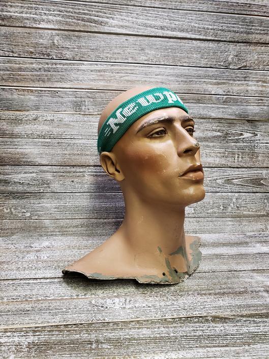 Vintage 1980s Headband, Newport Cigarettes Sweatband, DEADSTOCK, NIB 80's Newport Cigarettes Headband, Tobacco Promo, Vintage Clothing by AGoGoVintage