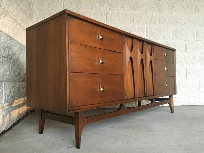 #476: Broyhill Brasilia Triple Credenza / Dresser