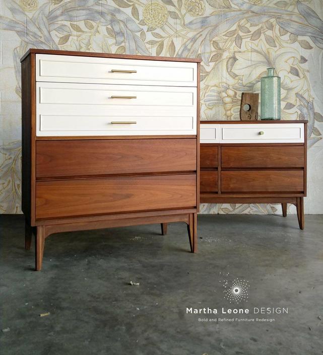 SAMPLE: Mid Century Dressers