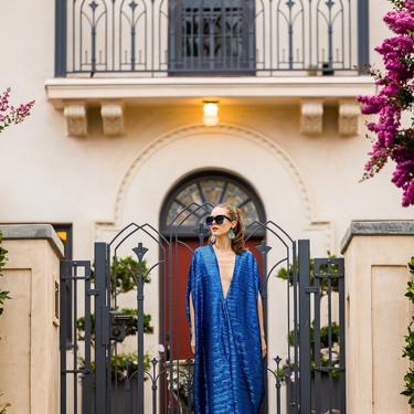 Royal Sequin Caftan by jennafergrace
