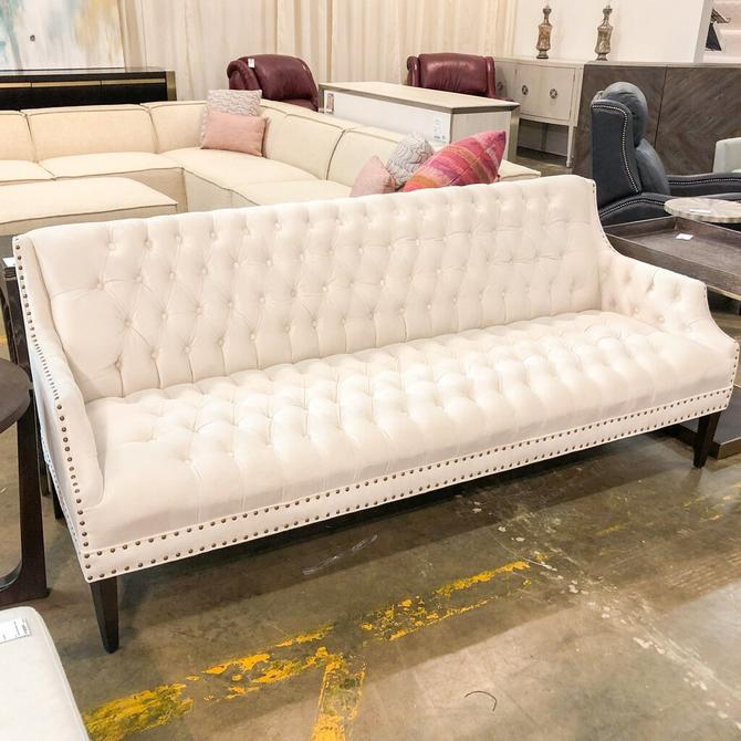 Southern Button Tufted Sofa
