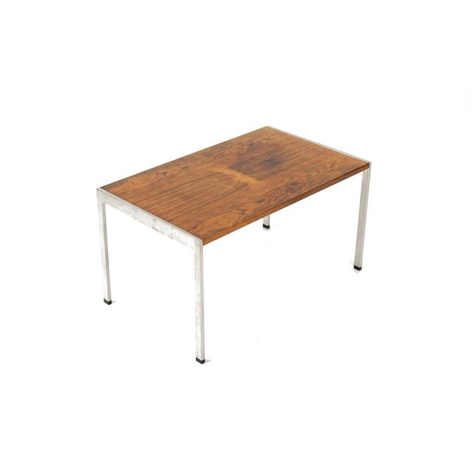 Rosewood and Chrome Coffee/End Table
