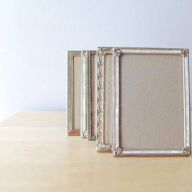 8 x10 vintage brass photo frames wedding decor table numbers by ionesAttic