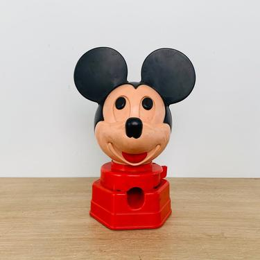 Vintage Walt Disney Productions Mickey Mouse Candy Dispenser 1968 Hasbro by DelveChicago