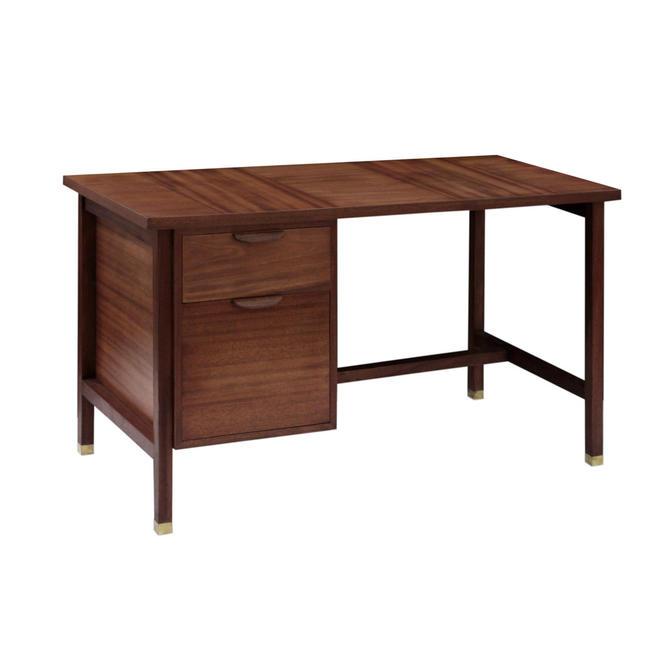 Harvey Probber Desk in Mahogany 1950s (Signed)