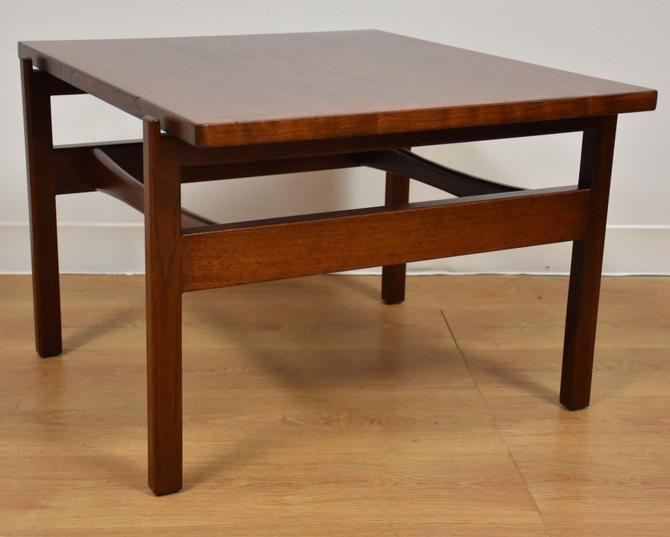 Jens Risom Walnut End Table by mixedmodern1
