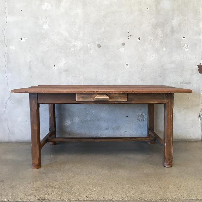 Solid Wood Farmhouse Table