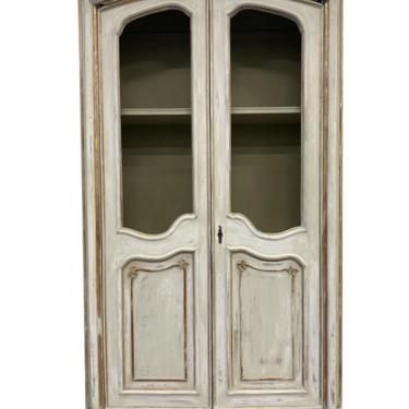 Tuscan Italian Two Door Carved Bibliotheque Bookcase - 19th C