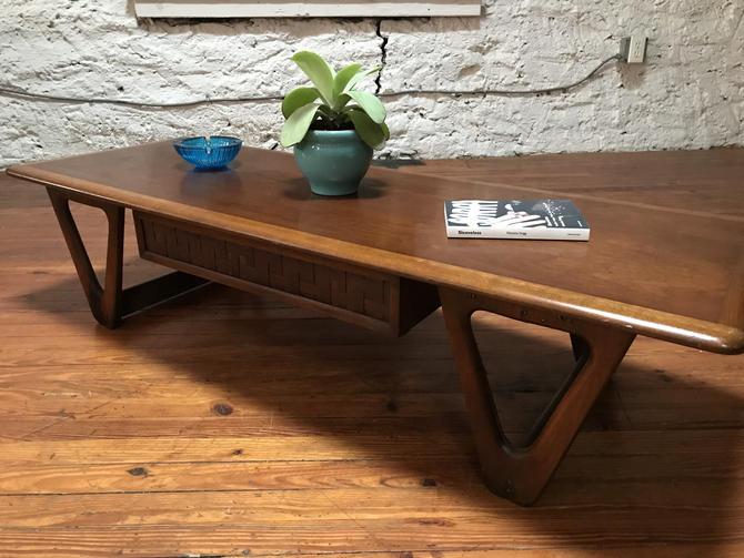 Mid century coffee table Lane coffee table mid century sofa table by VintaDelphia