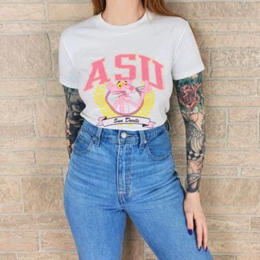 1989 ASU Pink Panther Sun Devils Shirt by NoteworthyGarments