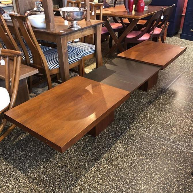 Walnut extendable coffee table! $250