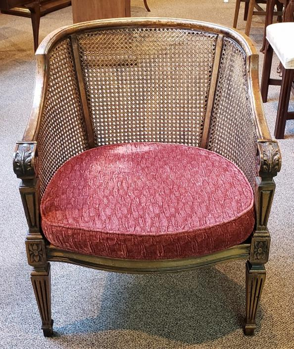 Item #DR464 Vintage Cane Back Chair c.1960s