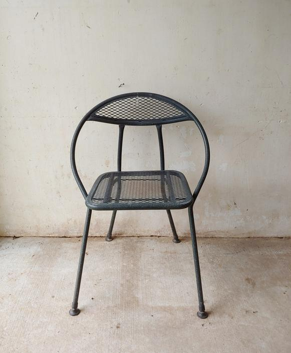 Miraculous Vintage Mid Century Modern Salterini Rid Jid Steel Folding Hoop Chair By Modandozzie Bralicious Painted Fabric Chair Ideas Braliciousco