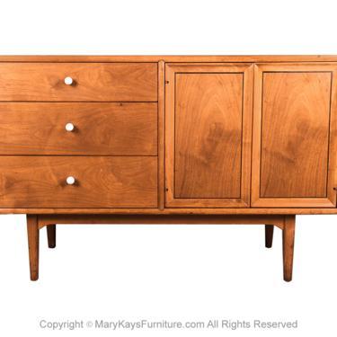 Mid Century Drexel Declaration Credenza Buffet Dresser Kipp Stewart and Stewart MacDougall by Marykaysfurniture