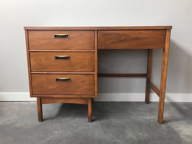 vintage mid century modern desk